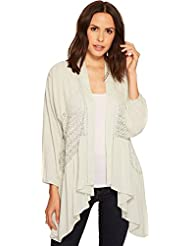Miss Me Womens Sheer Long Sleeve Cardigan