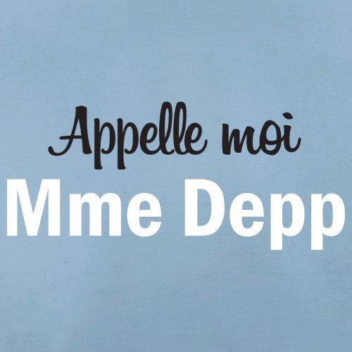 Apelle Moi Madame Depp - Femme T-Shirt - Bleu Ciel - XXL