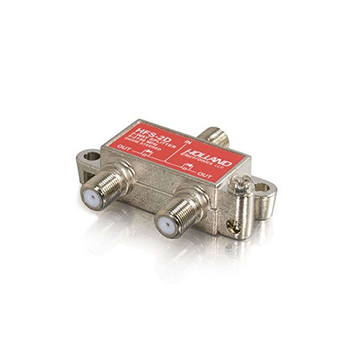 C2G/Cables to Go 41020 2-Way High-Frequency Splitter ()