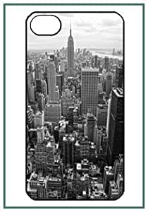 Manhattan New York City NY US iPhone 4s iPhone4s Black Case Cover Protector Bumper