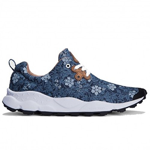 Flower Mountain Women's Sneaker Pampas Flower Blue Size 37