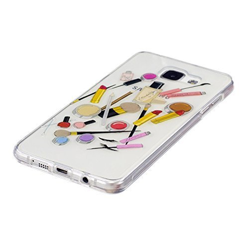 Funda Galaxy A5 2016, CaseLover Carcasa para Samsung Galaxy A5 2016 A510 (5.2 Pulgadas) Ultra Delgado Transparente Suave Silicona TPU Flexible Gel Protectora Cubierta Resistente a los Arañazos Tapa Li Cosmético