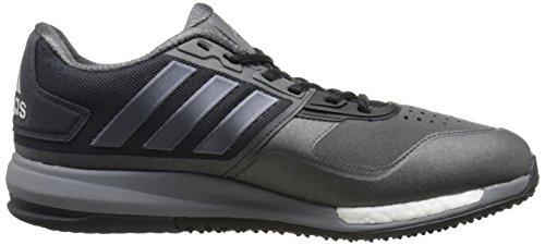 Adidas Prestaties Mens Crazytrain Stimuleren Cross-training Schoen Donkergrijs / Nacht Metallic / Zonne-rood