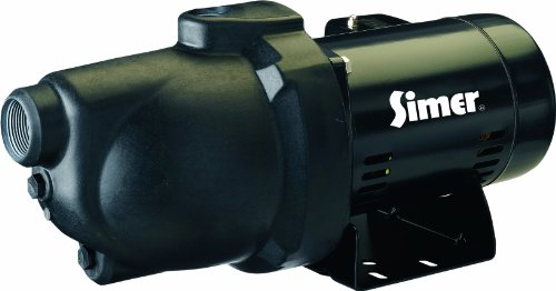 Flotec Simer 3107P 3/4 HP Shallow Well Jet Pump