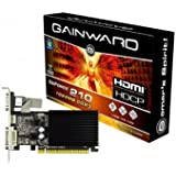 Gainward NVIDIA GeForce GF210 Grafikkarte (PCI-e, 1GB DDR3 Speicher, HDMI, DVI, 1GPU)