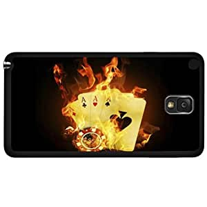 I'm on Fire Poker Hard Snap on Phone Case (Note 3 III)