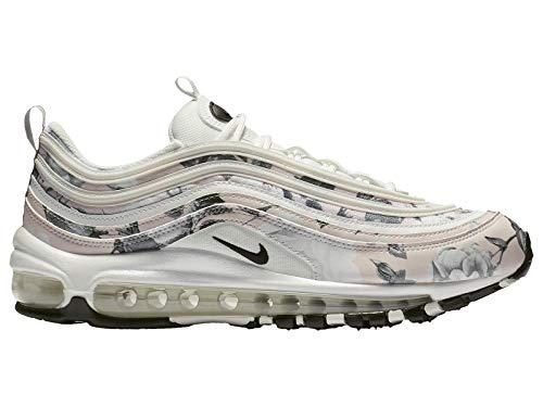 Nike Women's Air Max 97 Pale Pink/Black/White Synthetic Casual Shoes 8.5 M ()