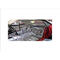 HushMat 661711 Sound and Thermal Insulation Kit (1971-1972 Mopar A Body Demon - Floor)