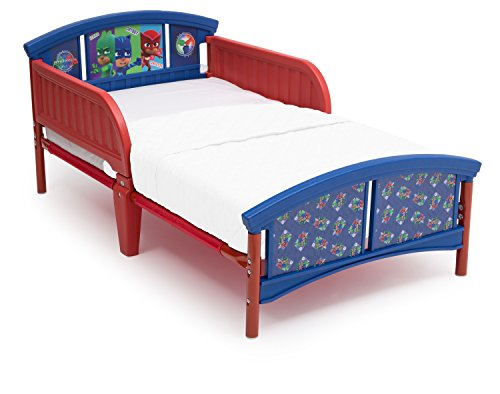 New Delta Children Plastic Toddler Bed, PJ Masks