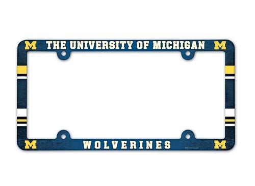 NCAA University of Michigan LIC Plate Frame Full (Lic Plate)