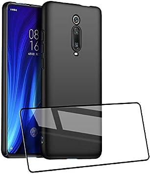 UCMDA Funda Xiaomi Mi 9T / Xiaomi Mi 9T Pro con Protector de ...