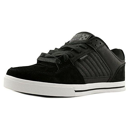 Buscando venta Descuento cómodo Protocolo De Osiris Cuero Punta Redonda Patín Zapato Negro / H-calle / Dave Hackett Descuento de Outlet Auténtico H4UPpo7pOP
