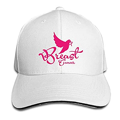 Breast Cancer Baseball Cap Adjustable Peaked Sandwich Hats