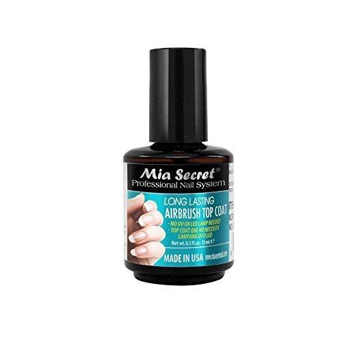(Mia Secret Long Lasting Airbrush Top Coat NO UV LED LAMP NEEDED)