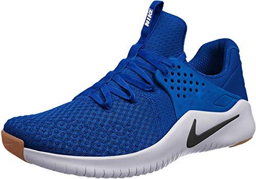 Nike Free TR 8 Mens Running Trainers AH9395 Sneakers Shoes (UK 9.5 US 10.5 EU 44.5, Game Royal Black White 401)