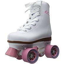 Chicago Girl's Classic Roller Skates – White Rink Skates