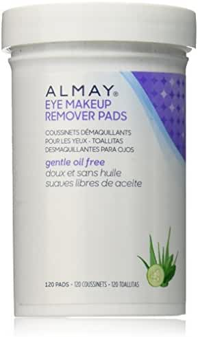 Almay Oil-Free Eye Makeup Remover Pads,120 Counts
