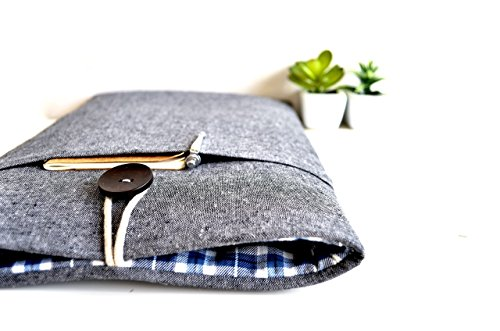macbook-case-macbook-sleeve-or-custom-sized-for-any-laptop-gray-and-plaid