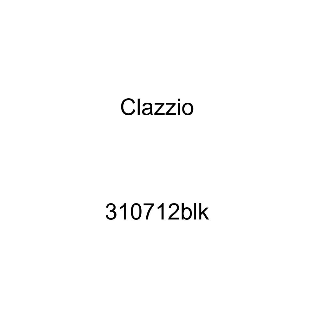 Clazzio 310712blk Black Leather Front and Rear Row Seat Cover for Honda Civic 4 Door Si