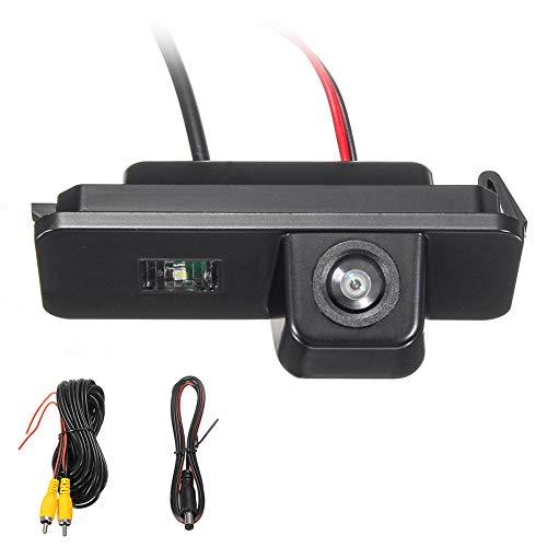 TYewa98556 Rear View Reverse Camera for VW Golf MK4 MK5 MK6 Passat CC 4D Bora Leon Polo 2C (Car Vw Mk4 Toy Golf)