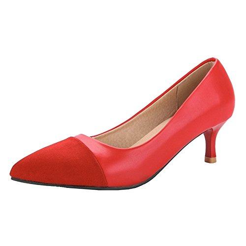 Compensées Rouge Chicmark Femme Sandales Chicmark Sandales Compensées YxZ6Wq