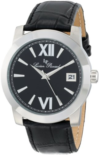 Lucien Piccard Women's LP-10026-01-BK Bordeaux Analog Display Japanese Quartz Black Watch