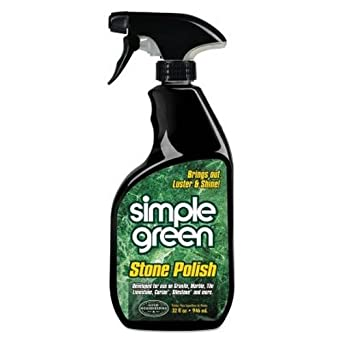 Simple Green 18402 Stone Polish, 32oz Trigger Spray