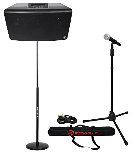 Mackie FreePlay LIVE Church/School Audio Visual Speaker Sound System+Stand+Mic