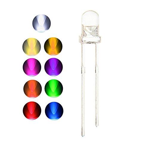 3Mm Purple Led Lights - 4