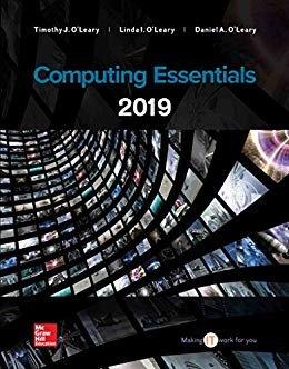 Computing Essentials 2019-cover