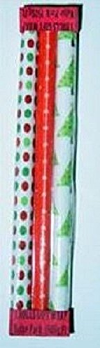 Tiny Details Dollhouse Miniature Christmas Wrapping Paper Package #TIN4079 -