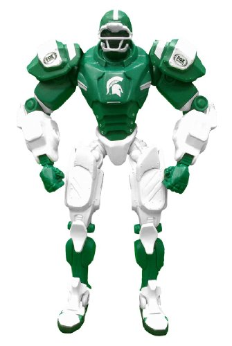 NCAA Michigan State Spartans Fox Sports Team Robot, 10-inches