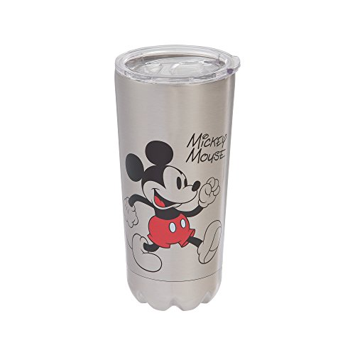 Vandor Disney Mickey Mouse 20-Ounce Stainless Steel Vacuum Travel Tumbler ()
