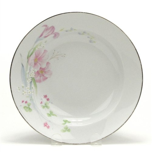 Pink Vista by Studio Nova, China Rim Soup Bowl (Rimmed Soup Vista Bowl)