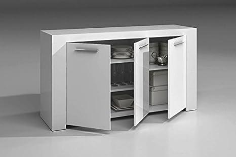 Mueble armario aparador buffe 144 cm de comedor o salón con ...