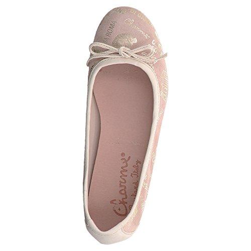 Charme Ballerina - Rosa Silber