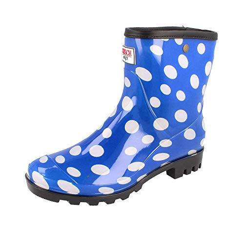 Shoes Gomma Sylt In Pois Ragazza Colori Con Donna Gosch Di Stivali 4 Blu 501 7107 dTqYcw