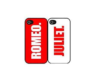 Romeo and Juliet - Set of 2 PLASTIC Phone Case Back Cover (iPhone 5 5s)
