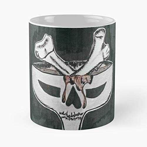 Bloody Mary Drink Dragon Skull - Handmade Funny 11oz Mug Best Birthday Gifts For Men Women Friends Work Great Holidays Day Gift]()