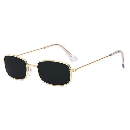 ZRTYJ Gafas De Sol Rectangulares Pequeñas Diseñador De La ...
