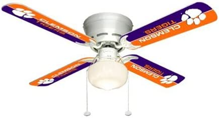 Ceiling Fan Designers Clemson Tigers 42 Ceiling Fan