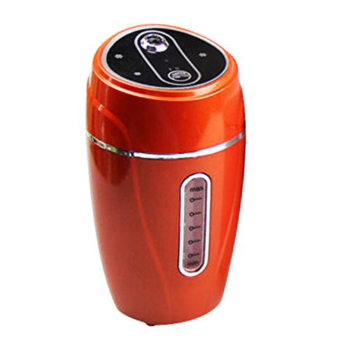 Zehui Air Purifier Freshener For Car Home Office Portable Mini USB Humidifier Red