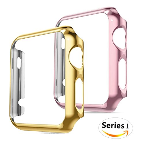 Plated Apple Watch Case Compatible