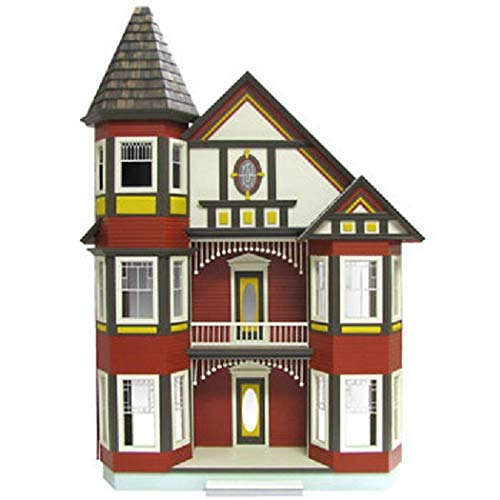 Real Good Toys Painted Lady Dollhouse Kit - 1 Inch Scale (Real Good Toys)