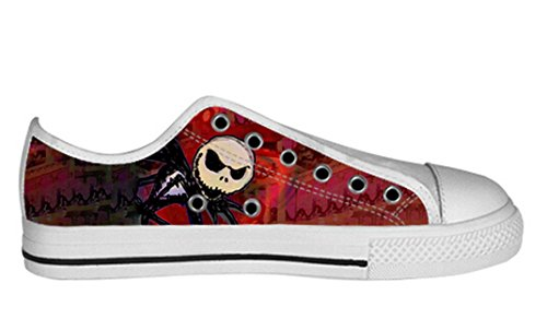 Womens Canvas Low Top Shoes The Nightmare Before Christmas Design Dayofdead Shoes12 zFEy4jMJ