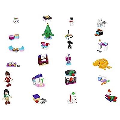 Lego Friends 41131 Advent Calendar Building Kit (218 Piece) (Discontinued by Manufacturer): Toys & Games