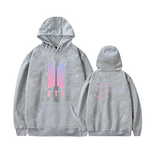 Kpop BTS Love Yourself Her Hoodie Suga Rap-Monster Jimin Jin J-Hope Jung Kook Unisex Fashion Jumper for Women Men Sweatshirt by Newhe (Image #7)