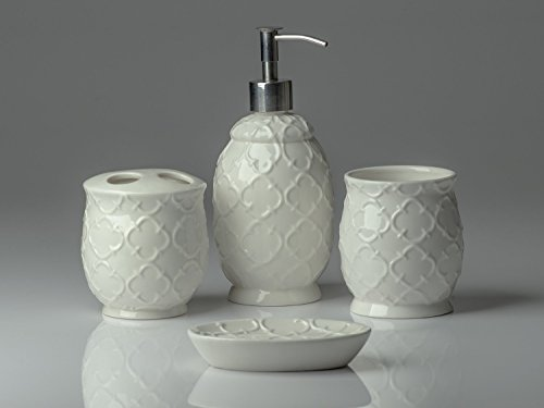 Review Designer 4-Piece Ceramic Bath