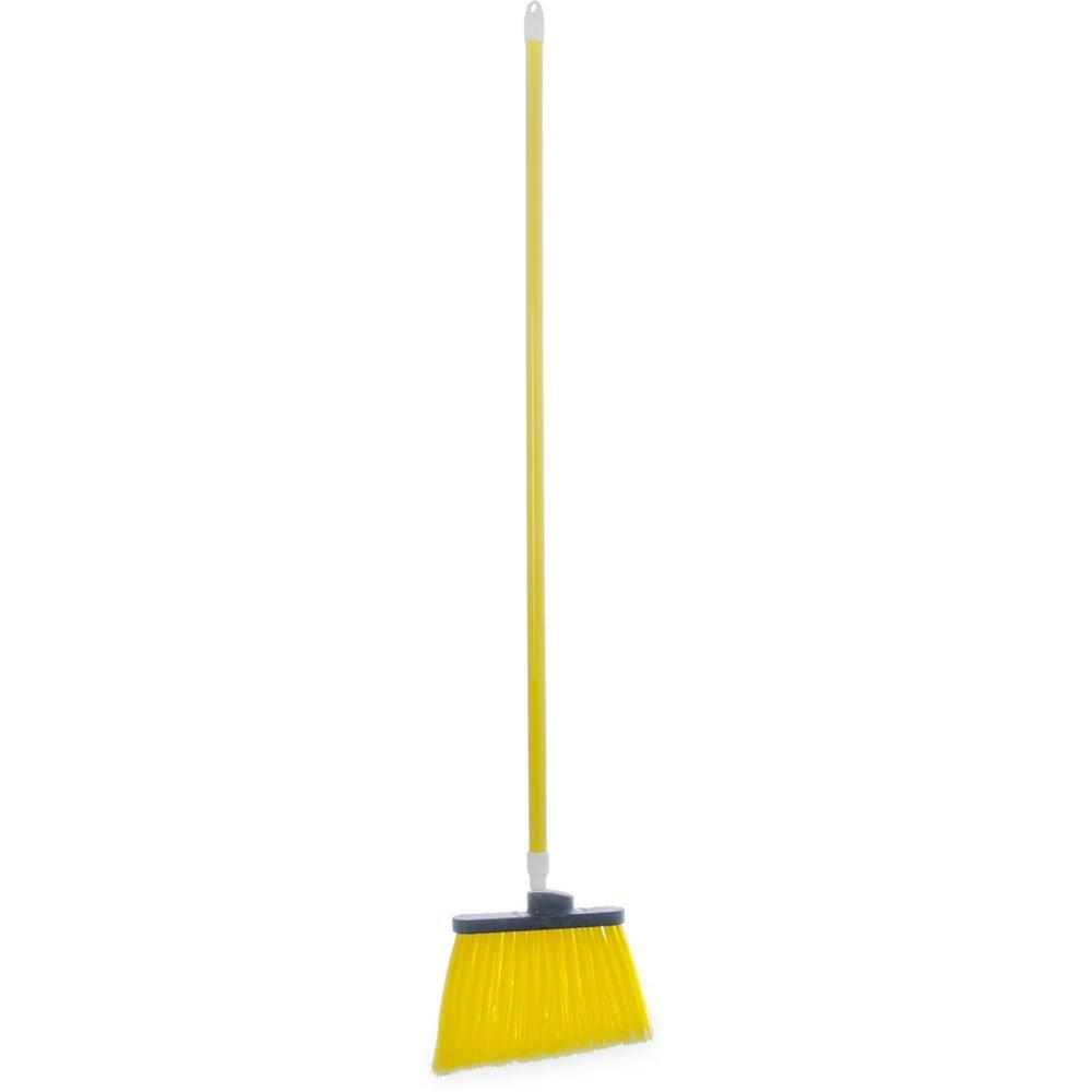 Carlisle 4108204 Sparta Spectrum 48'' Yellow Duo-Sweep Angle Broom