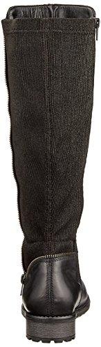 de Remonte para Negro Schwarz Schwarz Mujer Schwarz Montar R3325 Botas 4fAwrEf